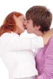 Kiss3 royalty-vrije stock afbeeldingen