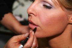 kissable χείλια Στοκ φωτογραφία με δικαίωμα ελεύθερης χρήσης