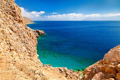 Kissamos Bay Royalty Free Stock Photos