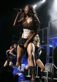 Kissedockor utför i konsert royaltyfri foto