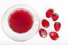 Kissel от замороженных ягод Стоковые Изображения RF