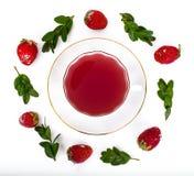 Kissel от замороженных ягод Стоковое Изображение RF