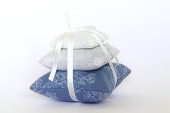Kissen des Lavendels Lizenzfreie Stockfotografie