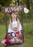 Kisses Royalty Free Stock Images