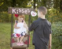 Kisses for You Royalty Free Stock Images