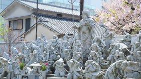 Kisshoji-Tempel, Osaka, Japan stockbilder