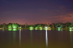 Kissimmee night Royalty Free Stock Photo