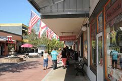 AMERICAN OLD TOWN KISSIMMEE ORLANDO FLORIDA USA. KISSIMMEE/ORLANDO / FLORIDA / USA  - 30,November  2017. Visitor and travelers visiting  Old town i Kissimmee Stock Photos