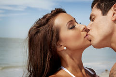 Kissing Royalty Free Stock Images