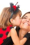 Kissing Royalty Free Stock Image