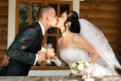 Kissing Stock Photo