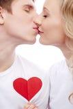 kissing imagen de archivo libre de regalías