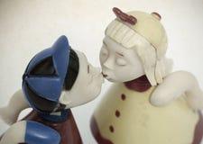 kissing imágenes de archivo libres de regalías