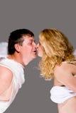 Kissing Angels Royalty Free Stock Image