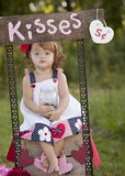 Kissing Booth Royalty Free Stock Image