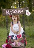 Kissing Booth Royalty Free Stock Photos