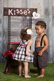 The Kissing Booth Royalty Free Stock Images