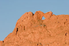 Kissing Camels. In the Garden of the Gods, Colorado Springs, CO Stock Images