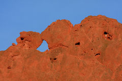 Kissing Camels in Garden of the Gods Stock Images