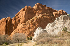 Kissing Camels at The Garden of the Gods. In Colorado Springs, Colorado Royalty Free Stock Images