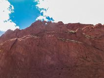 Kissing Camels at Garden of the Gods stock images