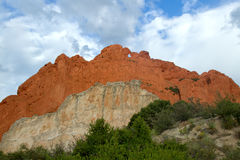 The Kissing Camels landmark at garden of the Gods Royalty Free Stock Images