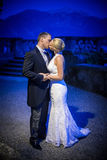 Kissing couple married Royalty Free Stock Images