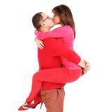Kissing couple Royalty Free Stock Image