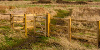 Kissing gate Stock Images