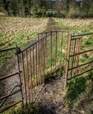 Kissing Gate Royalty Free Stock Photography