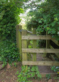 Kissing Gate In The Forest Royalty Free Stock Photography