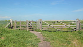 Kissing Gate Royalty Free Stock Photo