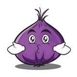 Kissing onion character cartoon Stock Photography