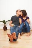 Kissing time! Stock Photos