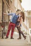 Kissing Royalty Free Stock Photo