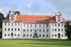 Kisslegg Castle. (locally known as Schloss Kisslegg). 1548 all the entire village of Kisslegg was destroyed, except the baroque castle. Today it is open to the Stock Photography