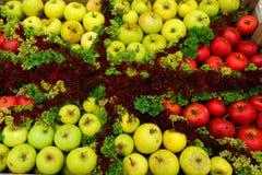 Kiste Äpfel Lizenzfreies Stockfoto