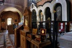 Kisten die de overblijfselen van heiligen bevatten Stock Afbeelding