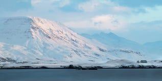 Kistufell, Esjan-Berge, Reykjavik, Island stockfotos
