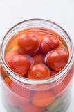 Kiszeni czereśniowi pomidory Obrazy Stock