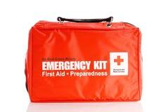 Kit americano de la Cruz Roja Imagen de archivo libre de regalías