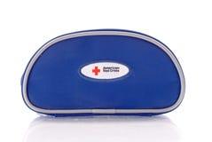 Kit americano del ER de la Cruz Roja Imagen de archivo libre de regalías