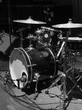 Kit bleu de tambour images libres de droits