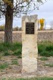 Kit Carson Gravesite på Boggsville på Santa Fe Trail Royaltyfri Foto
