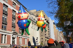 Kit, Charlie et elfe Baloons de C.J. Photographie stock