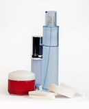 Kit cosmético Fotos de archivo