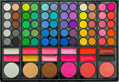 Kit cosmetics Stock Images