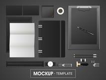 Kit d'identité d'entreprise ou calibre de maquette pour des affaires Images stock
