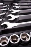 Kit d'outils métalliques Image libre de droits