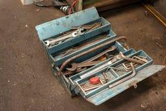 Kit d'utilitaires de divers outils Image stock